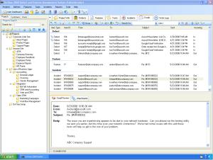 OnTime V8.1 Email Tab